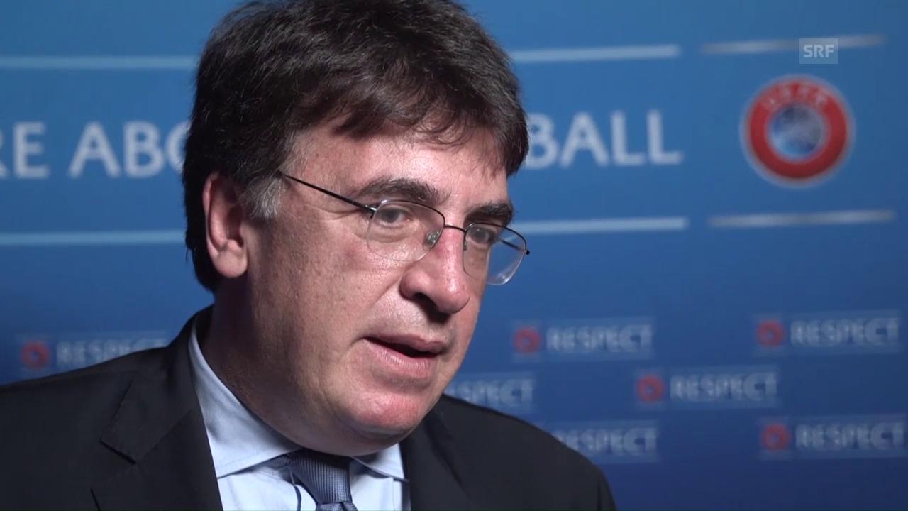 Uefa-Generalsekretär Theodore Theodoridis zur Aufnahme Kosovos