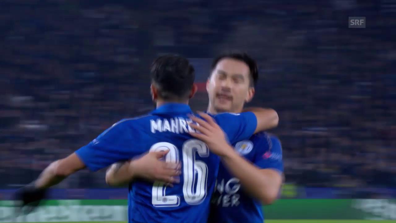 Leicester mit Heimsieg gegen Brügge
