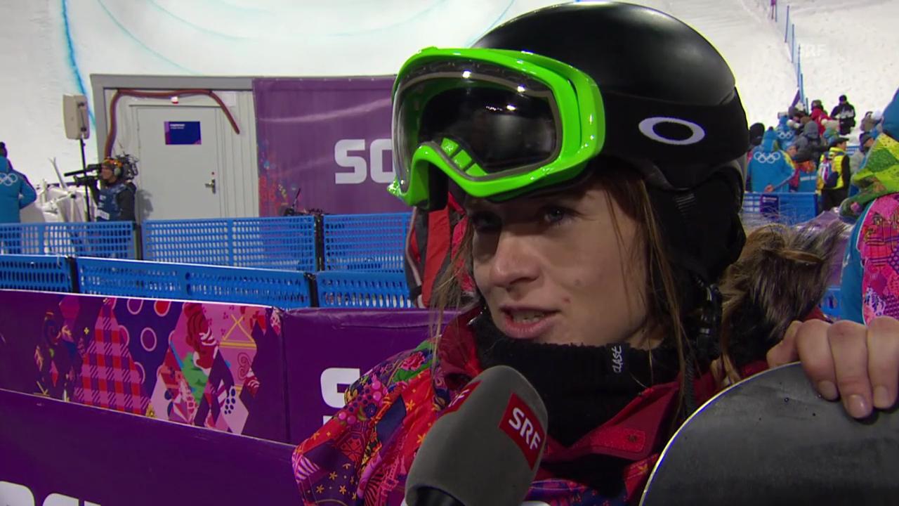 Snowboard Halfpipe: Interview mit Ursina Haller (sotschi direkt, 12.02.2014)