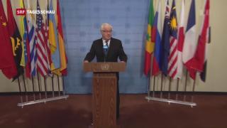 Video «Sicherheitsrat debattiert über Syrien» abspielen