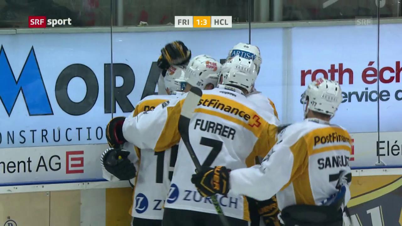 Lugano gewinnt in Freiburg souverän