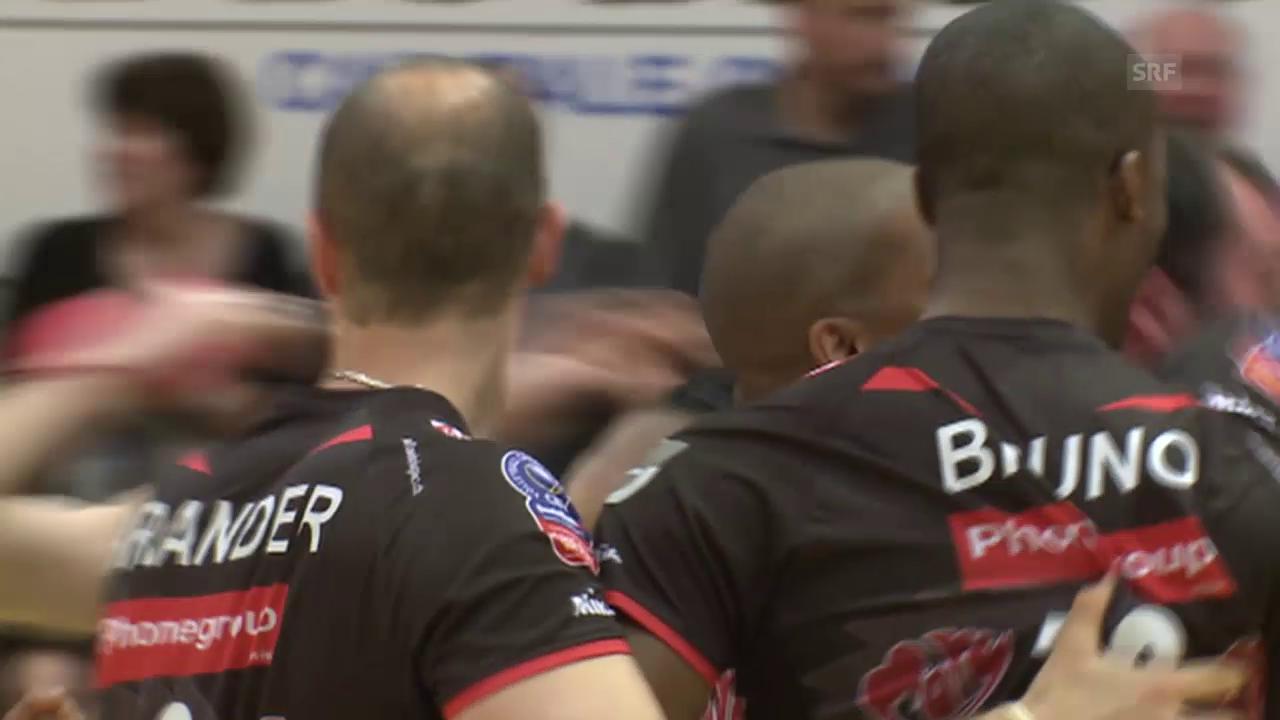 Volleyball: Playoff-Final, Spiel 2 Lausanne - Lugano