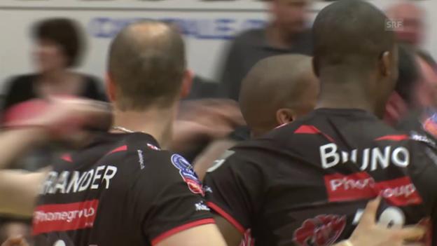 Video «Volleyball: Playoff-Final, Spiel 2 Lausanne - Lugano» abspielen