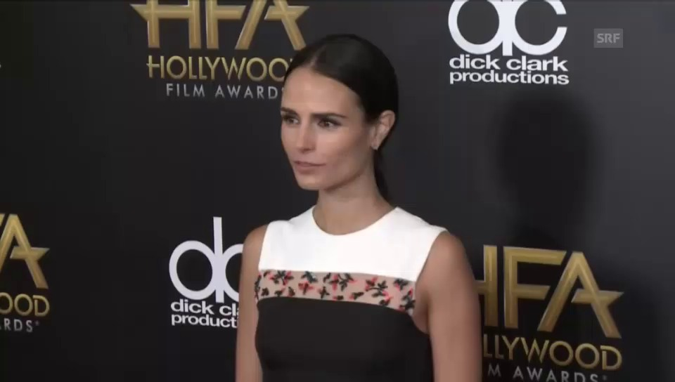 Jordana Brewster an den «Hollywood Film Awards»