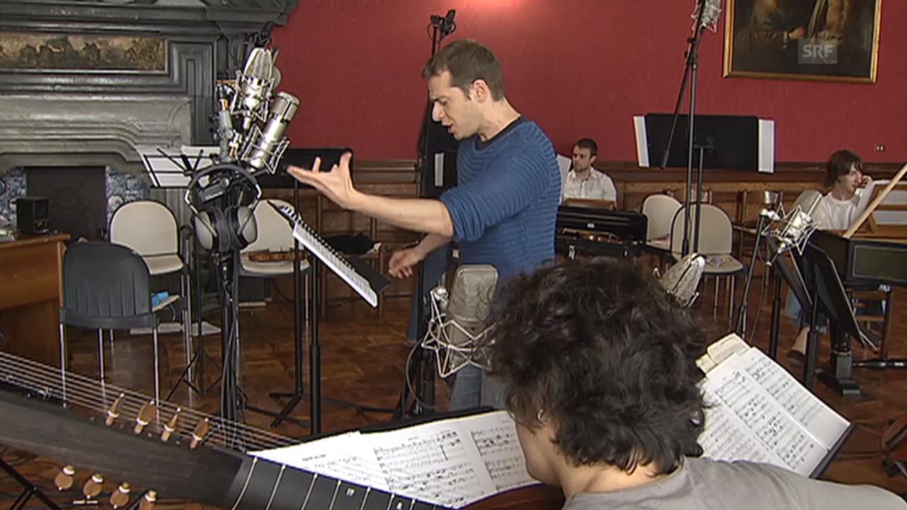 Gesang von Vincenzo Capezzuto (Tenorino)