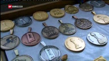 Münzen aus Le Locle (Euro 2008)