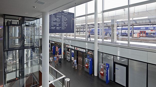 Eine Lobby kämpft für bessere Schnellzugangebote in Aarau (Stefan Ulrich, 15.05.2013)