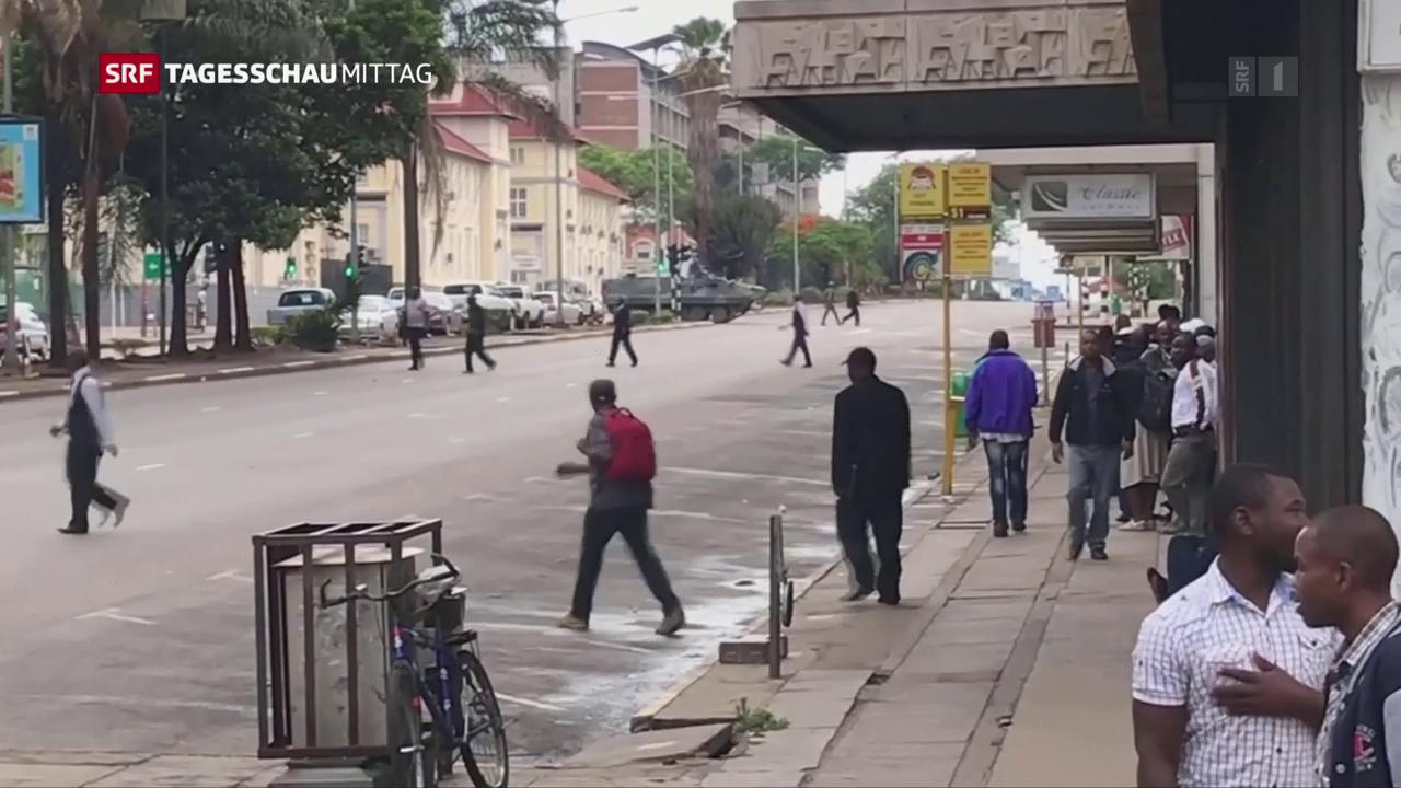 Unübersichtliche Lage in Harare