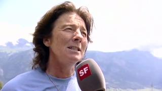 2009: Marie-Theres Nadig nach ihrer Trainer-Karriere