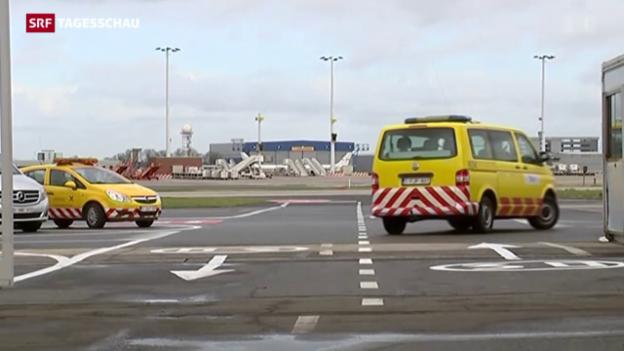 Video «Provisorium für Flughafen Zaventem» abspielen