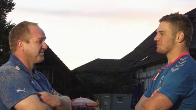 Video «Zaugg und Käser: Jung vs. Alt im BSV» abspielen