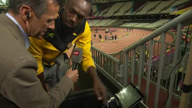 Video «Bolt: «Oh mein Gott, meine Reaktionszeit» (engl.)» abspielen