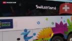 Video «Nati in Porto Seguro begeistert empfangen» abspielen