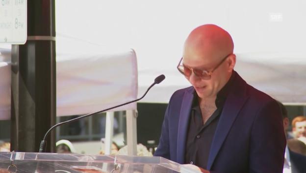 Video «Die emotionale Dankesrede des Musikers» abspielen