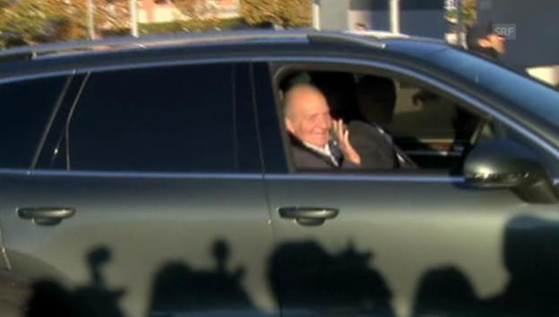 Video «Juan Carlos auf dem Weg ins Spital» abspielen