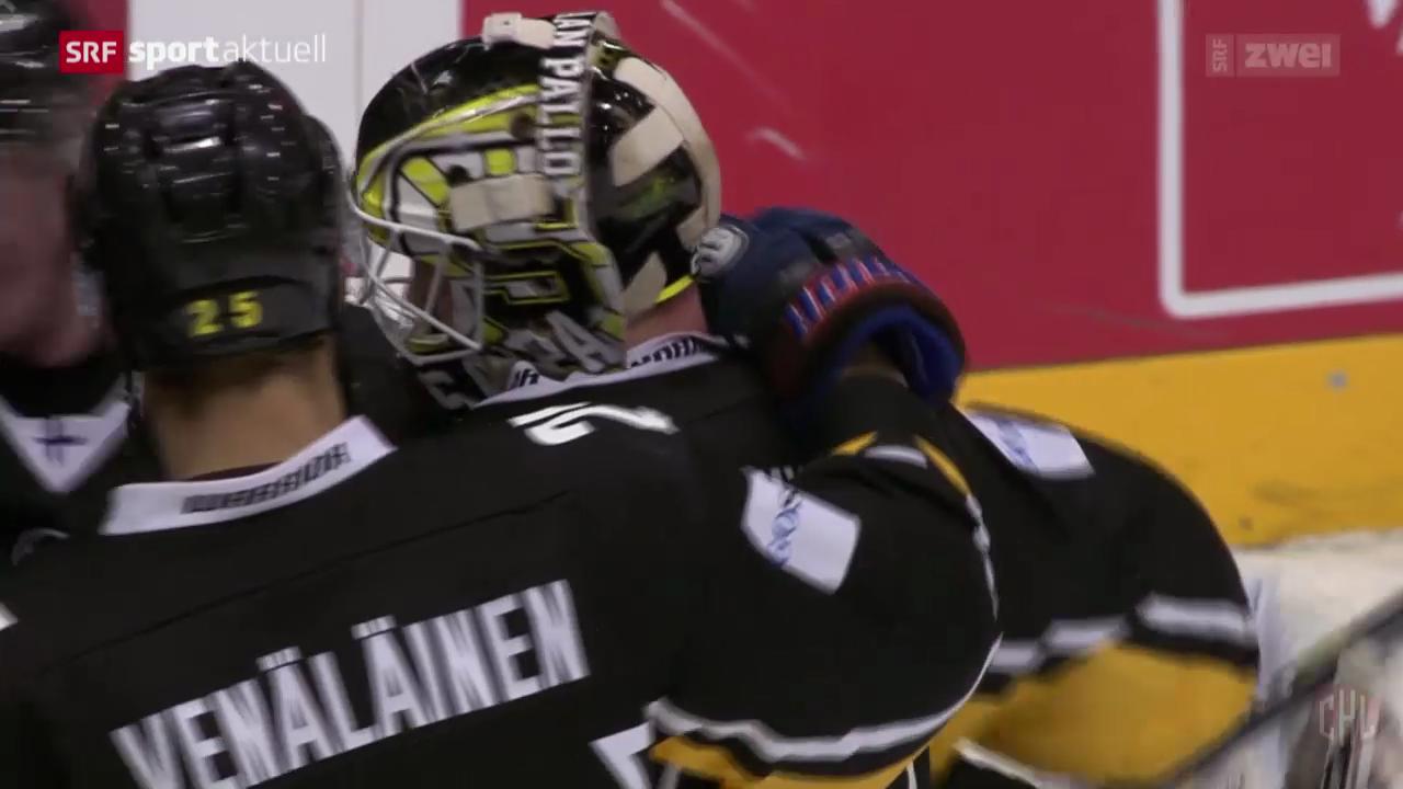 Eishockey: CHL, SaiPa Lappeenranta - Genf-Servette