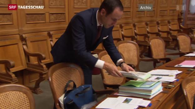 Video «Wasserfallen will nicht FDP-Präsident werden» abspielen