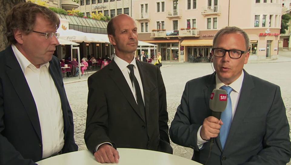 Gespräch zur Verfassungsreform im Wallis