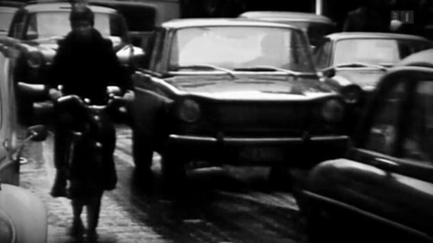 Video «Serie «Vor 50 Jahren»: Verstopfte Strassen» abspielen