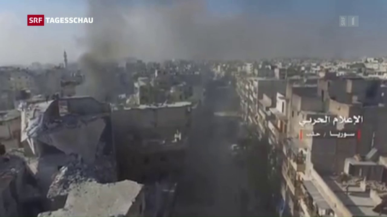 Ausweglose Situation in Aleppo