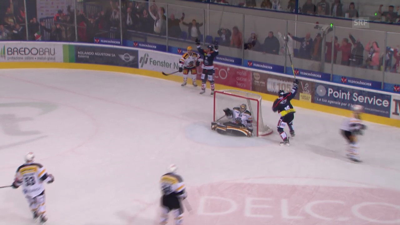 Eishockey: Ambri - Lugano («sportaktuell»)