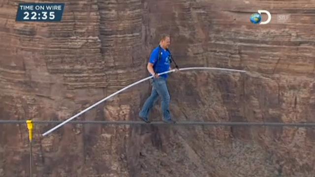 Seillauf am Grand Canyon (engl.)