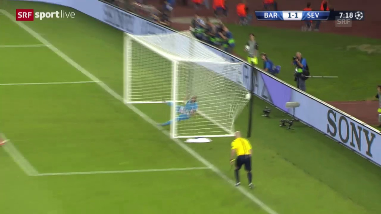 Fussball: UEFA-Supercup 2014/15, Barcelona - Sevilla