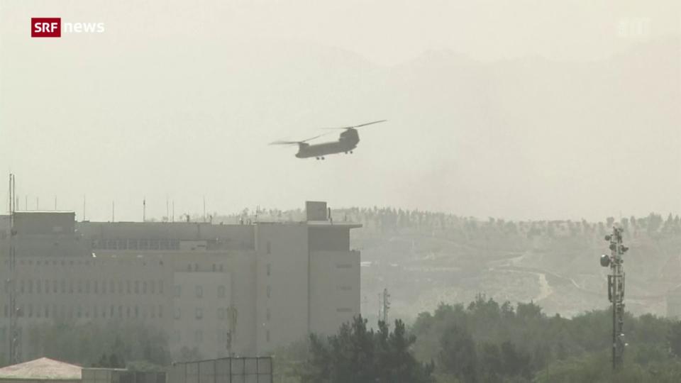 Taliban stehen kurz vor der Einnahme Kabuls