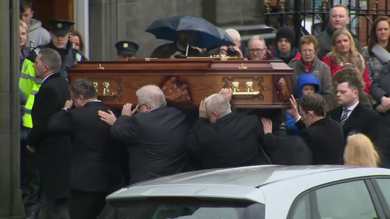 Dolores O'Riordan wurde am Sonntag öffentlich aufgebahrt