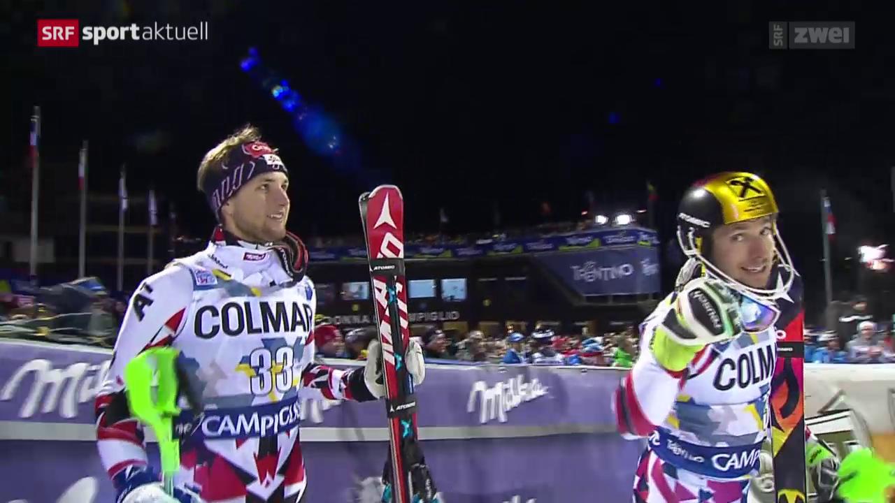 Ski alpin: Nachtslalom der Männer in Madonna di Campiglio