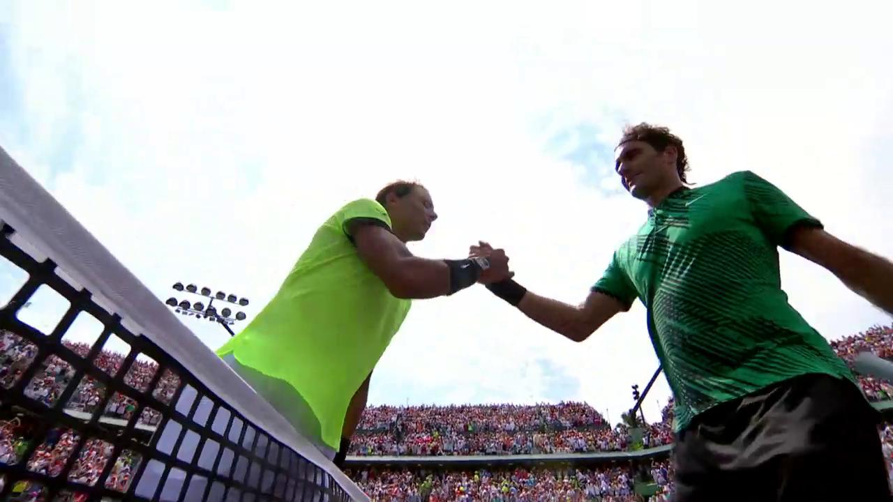 Federer schlägt Nadal erneut und gewinnt Miami