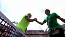 Video «Federer schlägt Nadal erneut und gewinnt Miami» abspielen