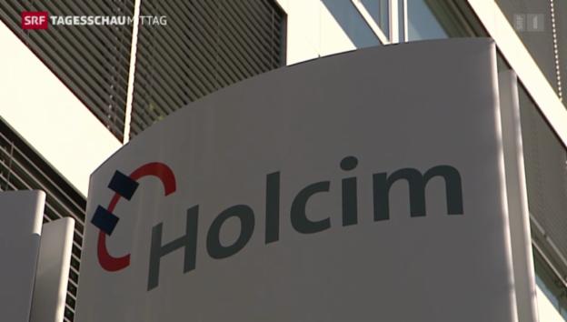 Video «Holcim schwächelt im dritten Quartal» abspielen