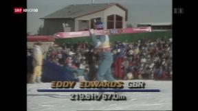 Video ««Eddie The Eagle» fliegt in die Kinos» abspielen