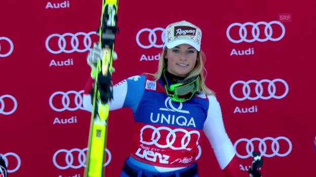 Video «Ski: Zusammenfassung RS Frauen in Lienz» abspielen