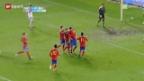 Video «U21: Spanien – Schweiz («sportlounge»)» abspielen