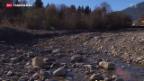 Video «Anhaltende Trockenheit in der Schweiz führt zu Problemen» abspielen