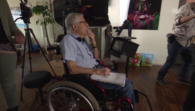 Video «Rolf Lyssy über seinen Fahrradunfall» abspielen