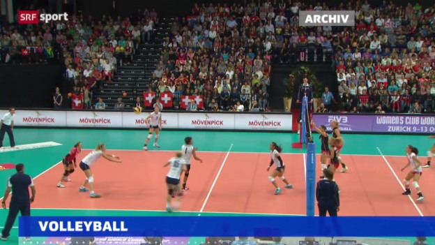 Video «Volleyball: WM-Qualifikation («sportaktuell»)» abspielen