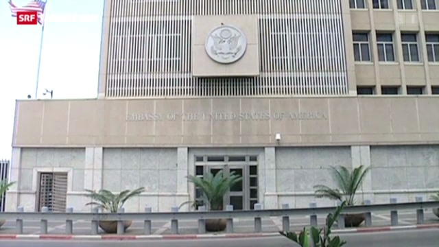Erhöhte Terrorgefahr bei US- Botschaften