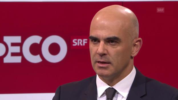 Video «Bundesrat Alain Berset über seine Reform» abspielen