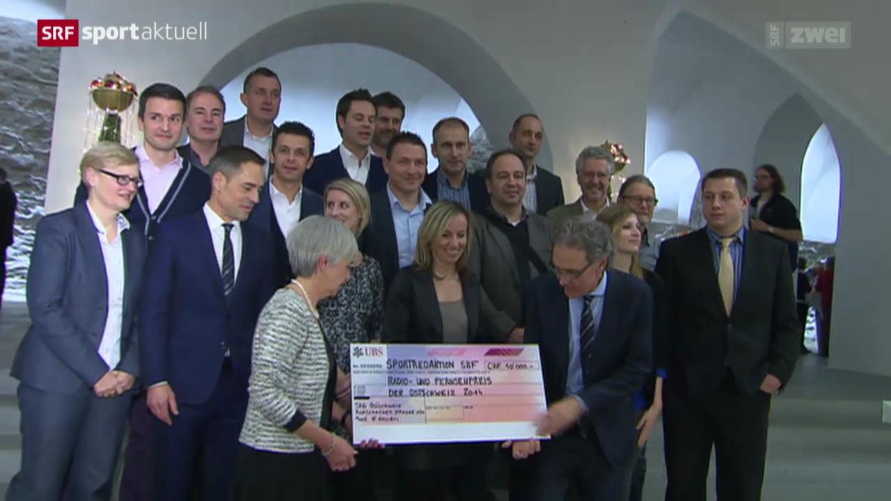 SRF Sport erhält Radio- und Fernsehpreis der Ostschweiz