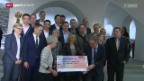 Video «SRF Sport erhält Radio- und Fernsehpreis der Ostschweiz» abspielen