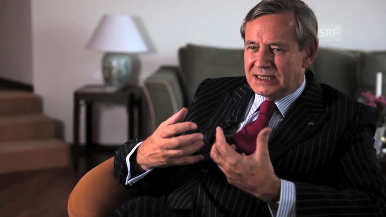 Frank Elbe, Diplomat