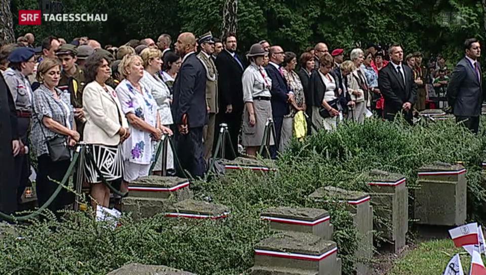 Polen gedenkt Aufstandsopfern