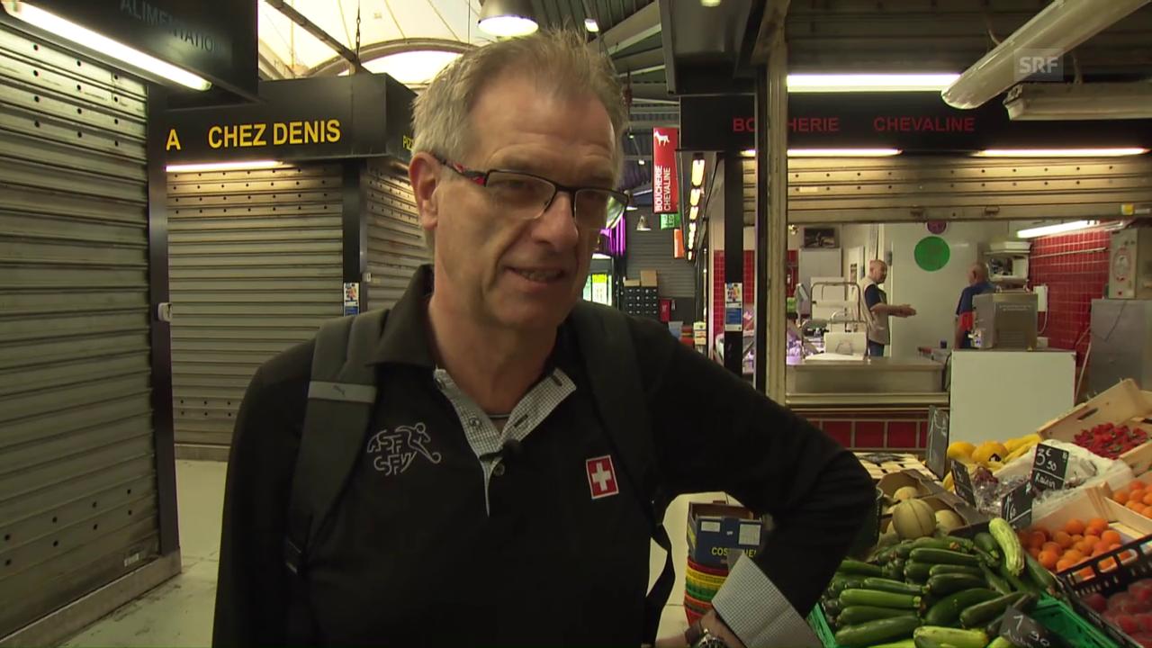 Der Schweizer Nati-Koch Bolli auf Einkaufstour