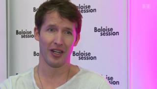 Video «Romantisch: James Blunt eröffnet «Baloise Session 2014»» abspielen