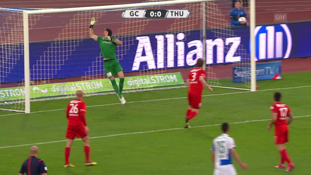 Fussball: Super League, GC-Thun