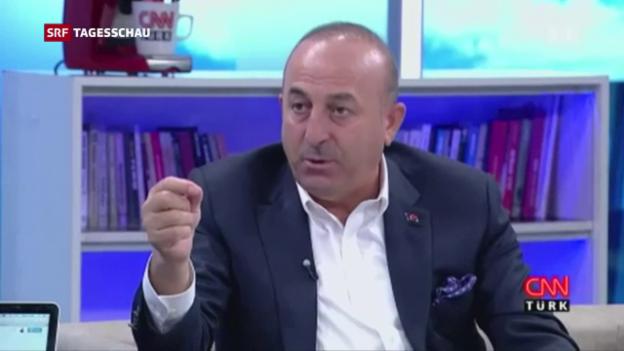 Video «Spannungen zwischen Niederlanden und Türkei» abspielen