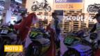 Video «Motorrad: Schweizer Moto2-Fahrer präsentieren ihre Maschinen («sportaktuell»)» abspielen